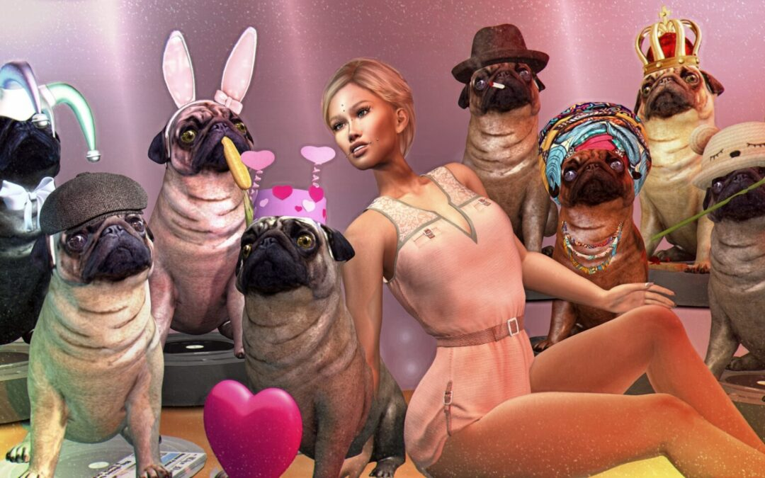 3. Doggy parade – Baby Sunshine Gacha