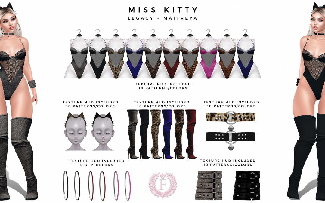 New Release from Fanshii – Miss Kitty