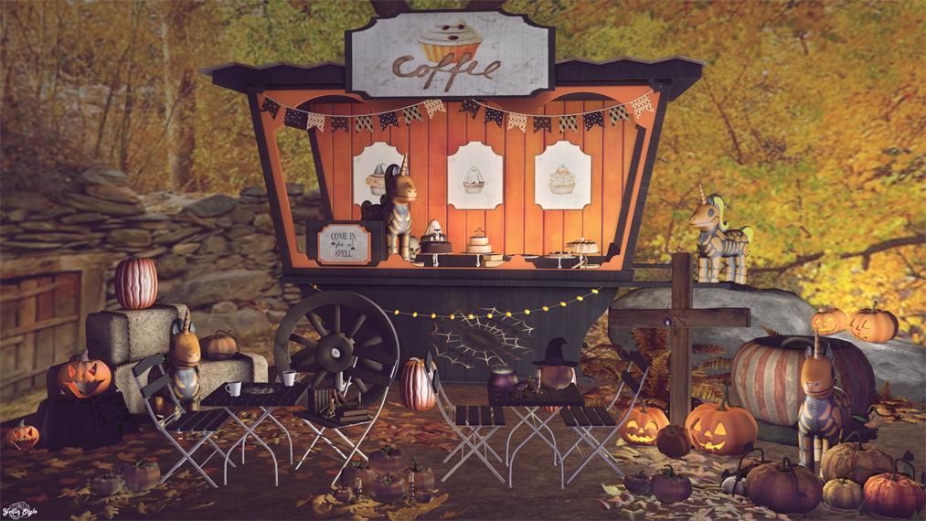 #405 – Halloween Coffee Vibes